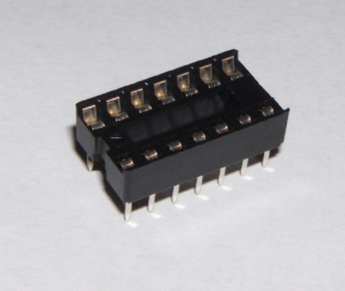 14 Pin DIL IC Socket Pack of 10